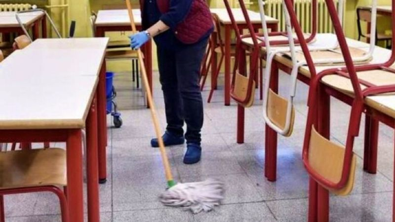 Pubblicato avviso relativo alla procedura selettiva per l'internalizzazione dei servizi di pulizia