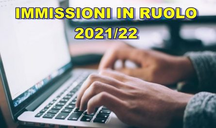 immissioni in ruolo 2021-22