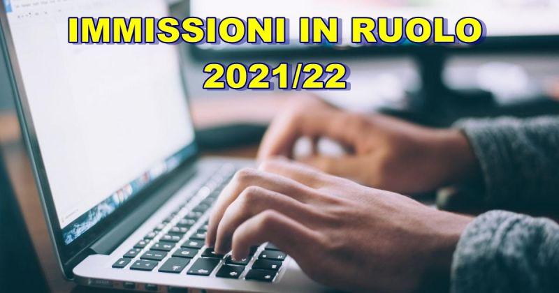 USR Emilia Romagna – Pubblicato l'avviso relativo alle immissioni in ruolo 2021/22