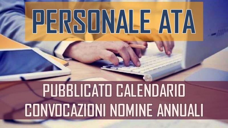 UST DI MODENA – Pubblicato calendario delle convocazioni del personale ATA per nomine annuali